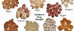 Хранително съдържание на някои ядки и семки