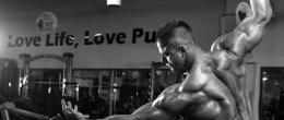 Тренировка за гръб на Живко Петков