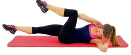Тренировка за корем за жени - по-плосък корем само за 8 седмици