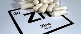 Цинк. Използва се от тялото за производство на тестостерон