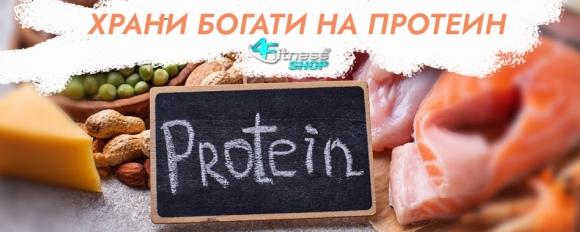 Храни богати на протеини. Ползи от приема на аминокиселини и протеини
