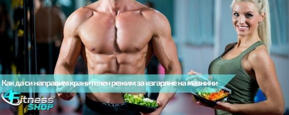 Как да си направим хранителен режим за отслабване?