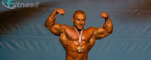 Тренировка за гръб на Радослав Ангелов